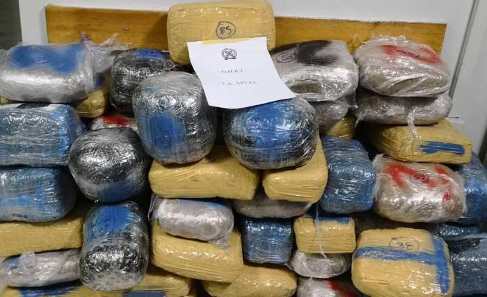 Θεσπρωτία: Πάνω από 192 κιλά κάνναβης κατασχέθηκαν στη Νεράιδα Θεσπρωτίας και στο Μενίδι Αιτωλοακαρνανίας