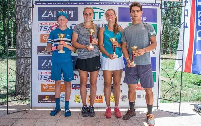 Γιάννενα: Oλοκληρώθηκε το 3ο ITF CUP JUNIORS
