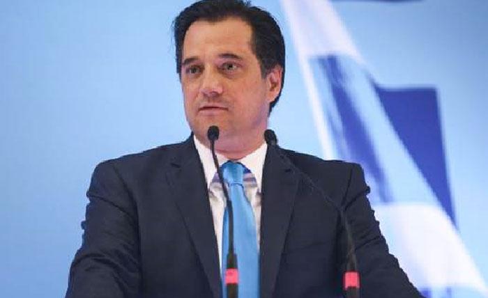 Άρτα: Ο Άδωνις Γεωργιάδης στην κοπή πίτας της ΝΟΔΕ στην Άρτα