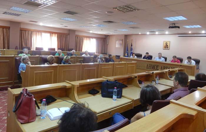 Άρτα: Ολοκληρώθηκαν οι συναντήσεις του Δημάρχου Αρταίων με φορείς της Εκπαίδευσης