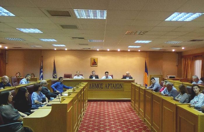 Άρτα: Συνεδρίασε η Επιτροπή Διαβούλευσης του Δήμου Αρταίων για Προϋπολογισμό και Τεχνικό Πρόγραμμα 2018