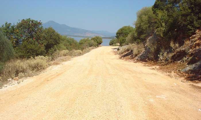 Άρτα: Βελτίωση βατότητας δρόμου για Ιερά Μονή Παναγίας Ροδιάς Βίγλας