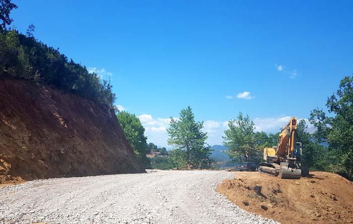Άρτα: Σε πλήρη εξέλιξη οι εργασίες οδικού δικτύου Μεσόπυργος-Αυλάκι Αιτωλοακαρνανίας