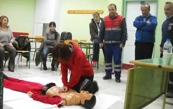 Άρτα: Πανελλήνια Εβδομάδα Εκπαίδευσης και Πρόληψης: Το ΕΚΑΒ Άρτας συμμετέχει με ενημέρωση των πολιτών και επιδείξεις
