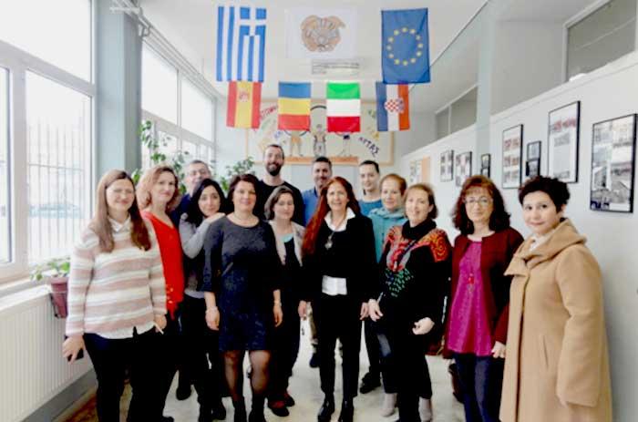 Άρτα: Επίσκεψη καθηγητών από τέσσερις χώρες στο 4ο γενικό λύκειο
