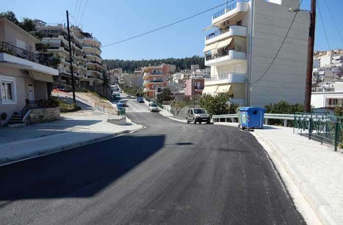 Άρτα: Ολοκληρώθηκαν οι εργασίες στις οδούς Δρυάδων, Πρωταγόρα και Αμβρακιώτη