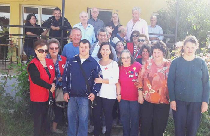 Άρτα: Επίσκεψη Ερυθρού Σταυρού στο Πρότυπο Κέντρο Επαγγελματικής Κατάρτισης ΑμεΑ Ν.Άρτας «Αγία Θεοδώρα»