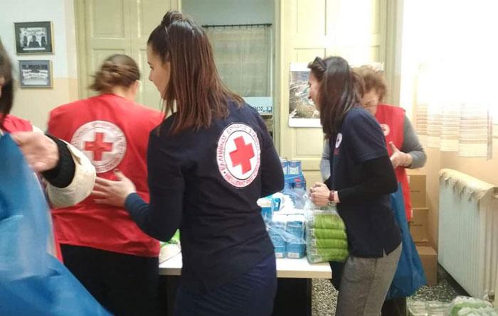 Άρτα: 235 οικογένειες στήριξε το Πάσχα το Τμήμα Άρτας του Ελληνικού Ερυθρού Σταυρού