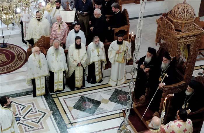 Άρτα: Εσπερινός Αγίου Καλλινίκου στην Ιερά Μητρόπολη Άρτης
