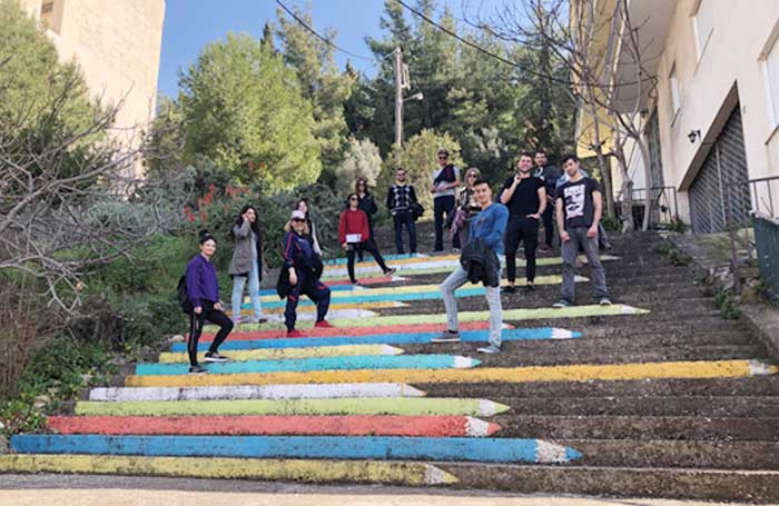 Ήγουμενίτσα: Eκπαιδευτική εκδρομή-περίπατος φοιτητών Κατεύθυνσης Διοίκησης Τουριστικών Επιχειρήσεων