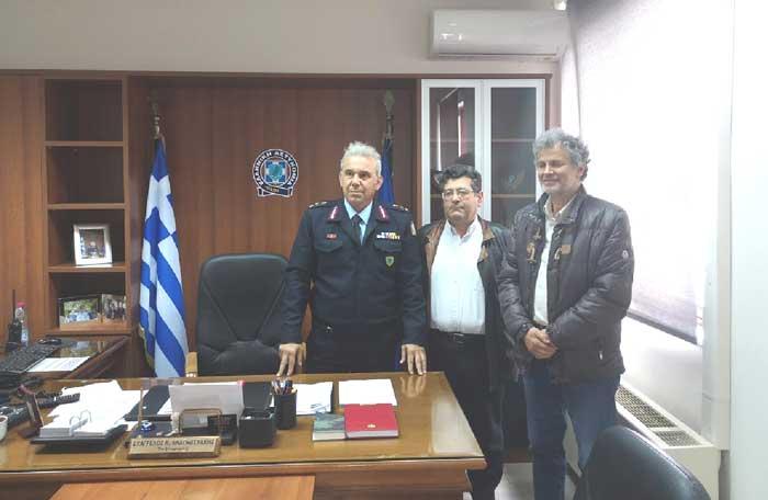 Άρτα: Επίσκεψη προέδρου και αντιπροέδρου Ιατρικού Συλλόγου Άρτας στο νέο αστυνομικό διευθυντή