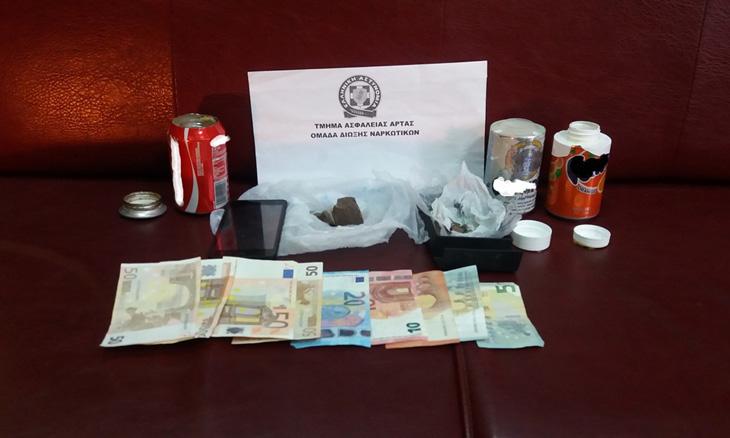 Άρτα: Συνελήφθη 42χρονος με ηρωίνη
