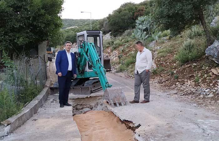 Άρτα: Ολοκληρώθηκε το έργο επέκτασης δικτύου ομβρίων στη Λιμίνη