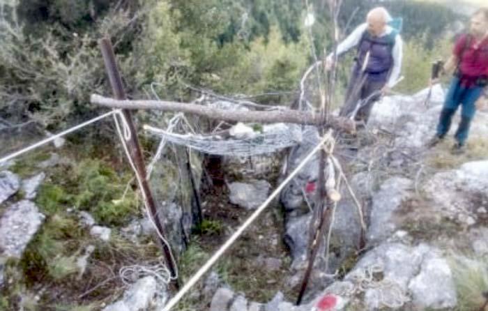 Άρτα: Ορειβατικός Σύλλογος - Καταγγελία για εύρεση παγίδας στα Τζουμέρκα