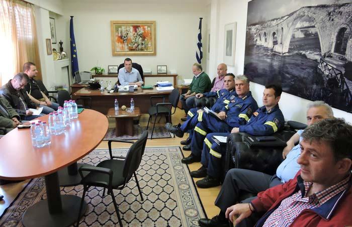Άρτα: Συνεδρίασε το Συντονιστικό Όργανο Πολιτικής Προστασίας ΠΕ Άρτας