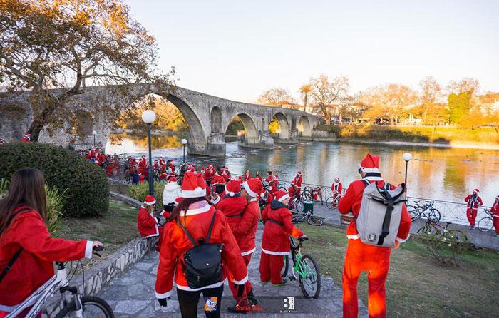 Άρτα: Santa Bike Arta - Γίνε Άγιος Βασίλης για… καλό σκοπό!!!