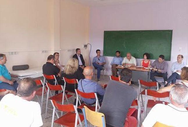 Άρτα: Συνάντηση με φορείς της Γραμμενίτσας πραγματοποίησαν δήμαρχος και αντιδήμαρχοι Αρταίων