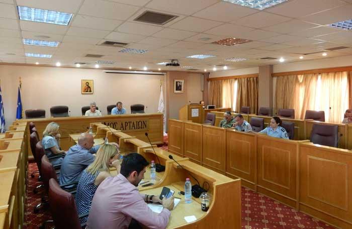 Δήμος Αρταίων: Συνεδρίασε το Συντονιστικό Όργανο Πολιτικής Προστασίας για την πρόληψη των πυρκαγιών