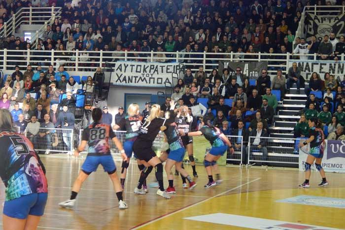 Άρτα: Με επιτυχία ο τελικός Κυπέλλου Ελλάδος Γυναικών στο Χάντμπολ - Νικήτρια η ομάδα της Θεσσαλονίκης