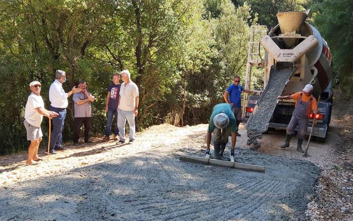 Άρτα: Με χρηματοδότηση Δήμου Αρταίων τα έργα οδοποιίας στον Αμμότοπο