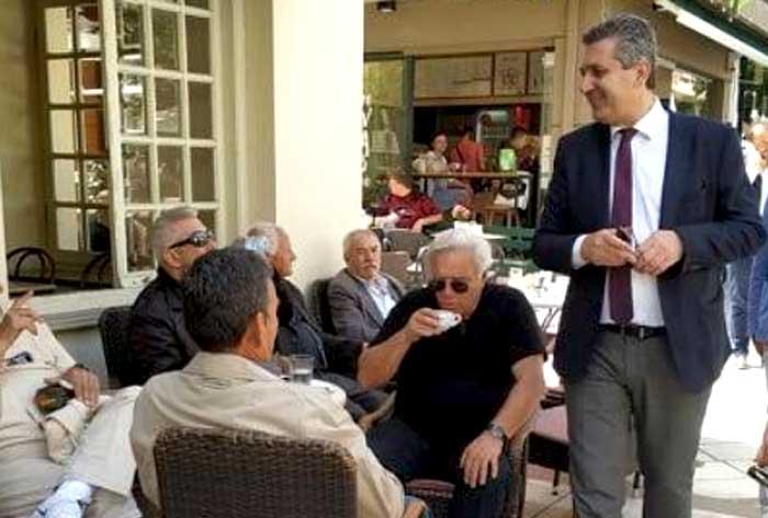 Άρτα: Επισκέψεις σε γειτονιές της Άρτας για τον Χρ. Τσιρογιάννη
