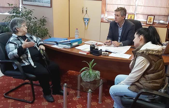 Άρτα: Συνάντηση Δημάρχου Αρταίων με την Πρόεδρο του Συλλόγου Γονιών με Νεοπλασματική Ασθένεια «Φλόγα»