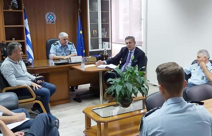 Άρτα: Συνάντηση Δημάρχου Αρταίων με τον Αστυνομικό Διευθυντή