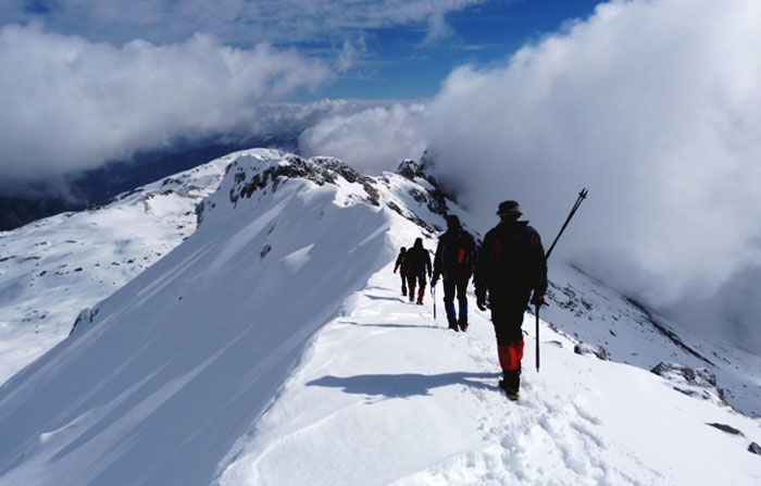 Άρτα: Ορειβατικός Σύλλογος Άρτας - Εξόρμηση στις κορυφές Σκοπός και Τρία Σύνορα