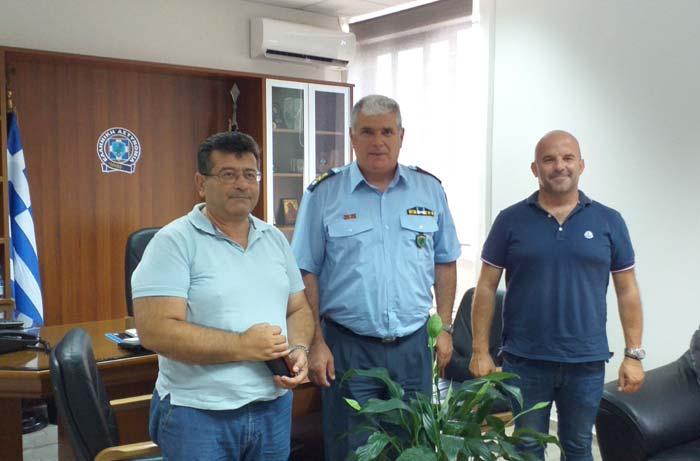 Άρτα: Συνάντηση προέδρου Ιατρικού Συλλόγου Άρτας με το νέο αστυνομικό διευθυντή