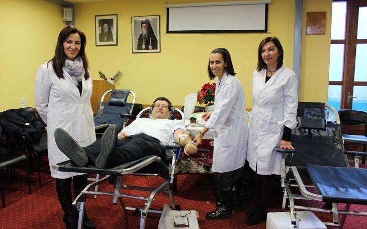 ΙΑΤΡΙΚΟΣ ΣΥΛΛΟΓΟΣ ΑΡΤΑΣ: Ευχαριστίες για την Χριστουγεννιάτικη εθελοντική αιμοδοσία