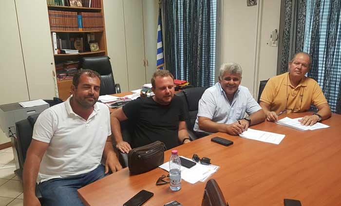 Άρτα: Δήμος Νικ. Σκουφά - Υπογράφτηκε η σύμβαση για αντιμετώπιση καταστροφών από θεομηνίες